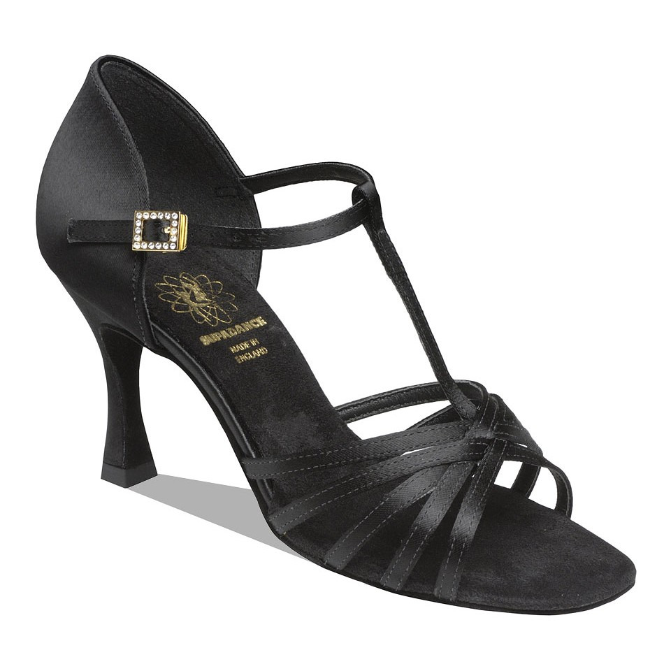 1401 Black Latin Dance Shoe