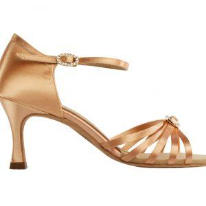 1516 Flesh Latin Dance shoe