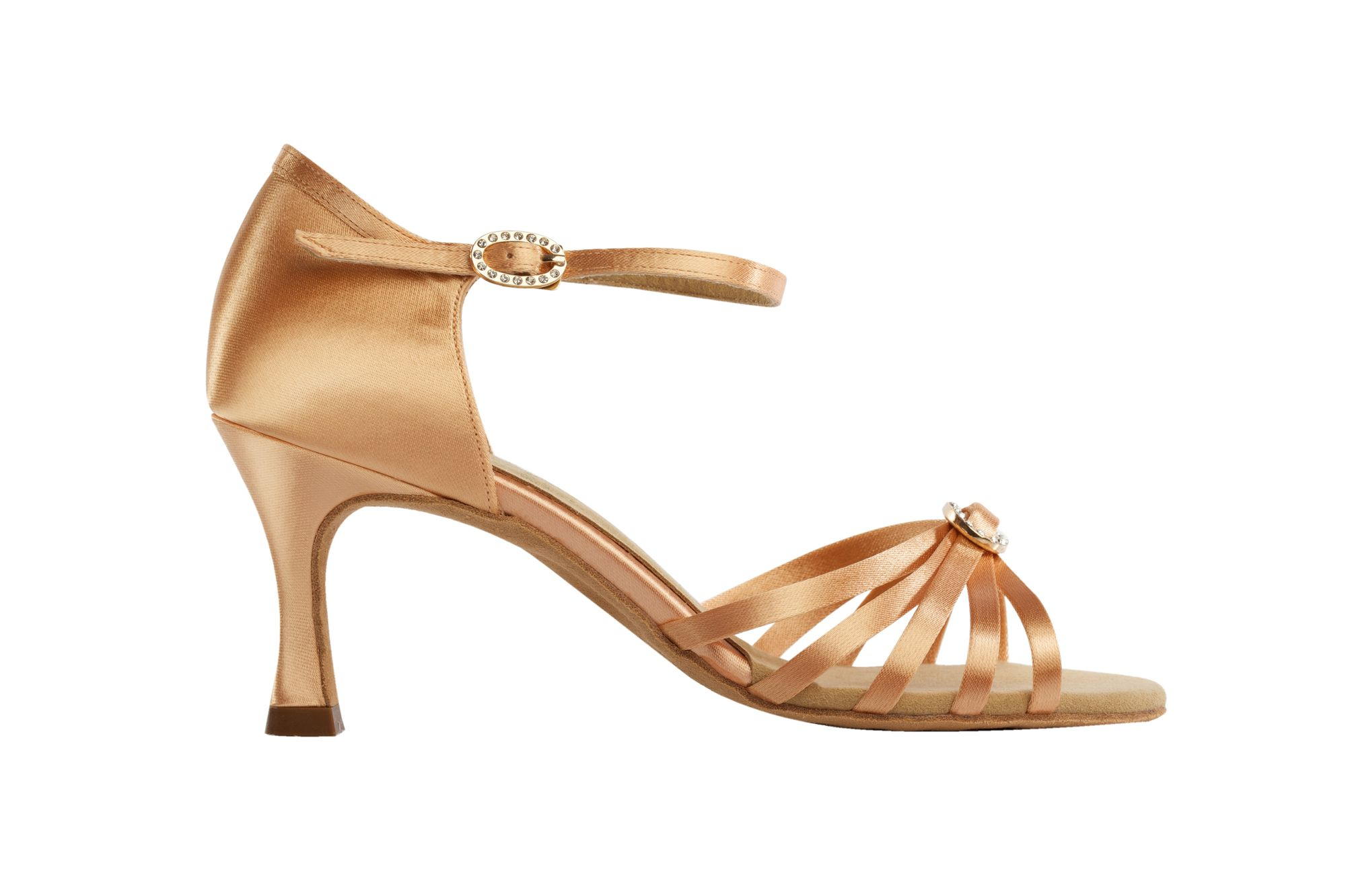 1516 Flesh Latin Dance shoe