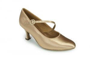 International ICS Round Toe S/Strap Ladies Ballroom