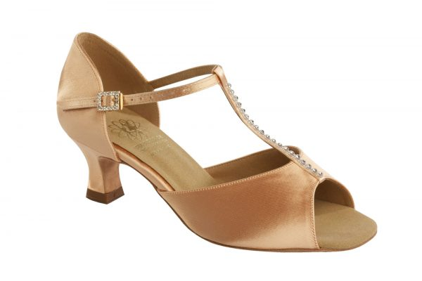 1529 Satin Dance shoe