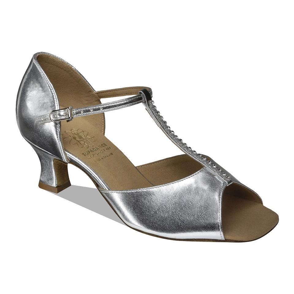 1529 Silver Dance Shoe
