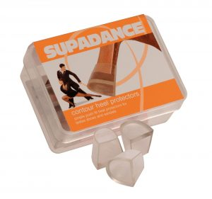 Supadance Contour and SD Heel Protectors - Suede