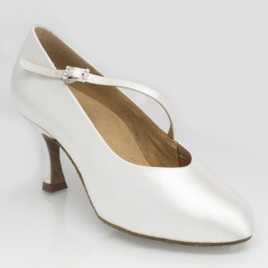 Ray Rose Rockslide Ladies Ballroom in White Satin