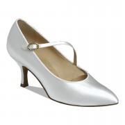1004 White Ballroom Shoe