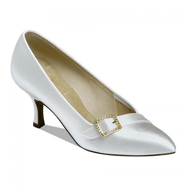 1023 White Ballroom Shoe