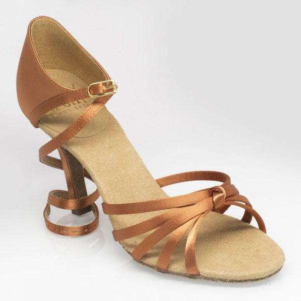 Ray Rose Drizzle Light Tan Satin