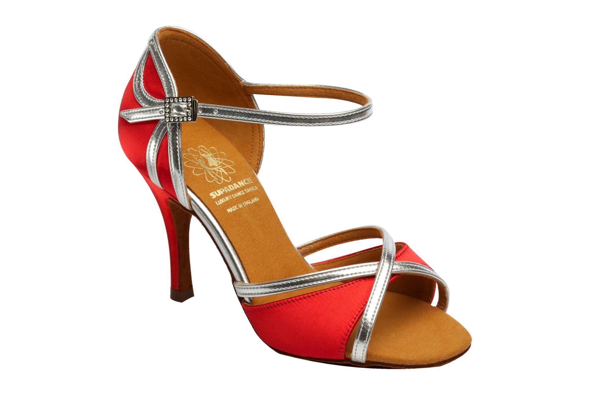 1073 Red Latin Dance Shoe