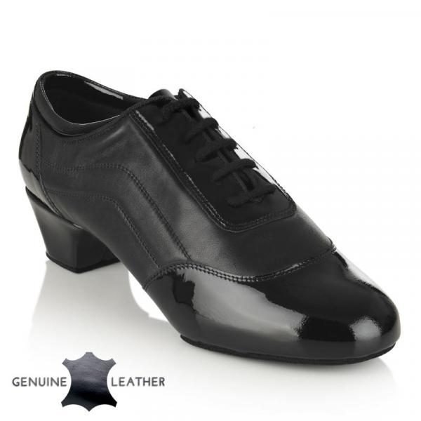 Halo in Black Patent/Leather
