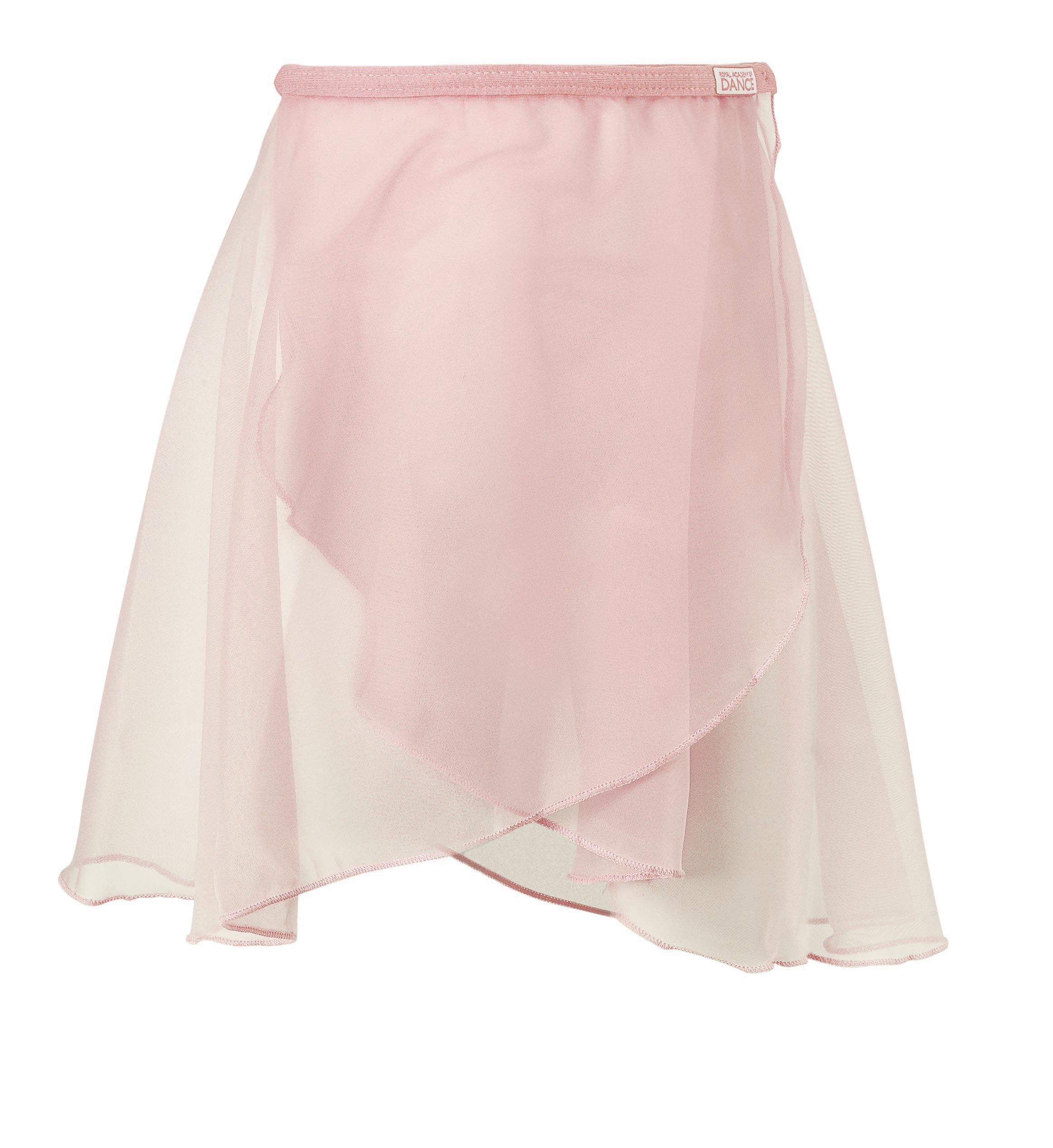 (a) Pink Elasticated Skirt for Primary, Pre-Primary and Introductory Ballet