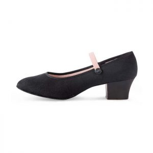 Bloch Tempo Character Shoe with Cuban Heel