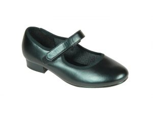 Tapper's and Pointer's Tap Shoe with Velcro strap in Black