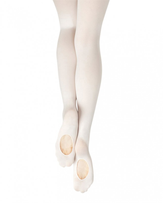 (h) Capezio V1883C and V1883 Essentials Transition Tights
