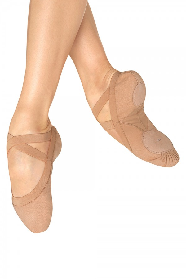 Bloch S0621L Pro Elastic Ballet shoes in Pink
