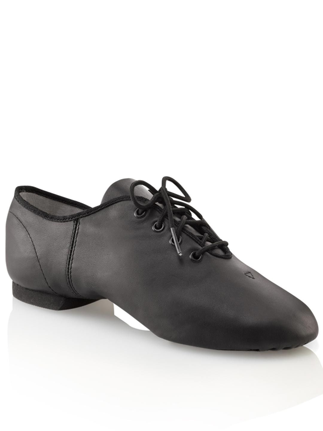 Capezio UCG02 Split Sole Jazz Shoe from Size US4 in Black
