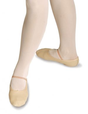 Roch Valley Leather Ballet Shoes - Child Sizes