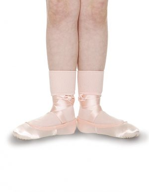 (h) Roch Valley Ballet Socks in Pink, White and Black