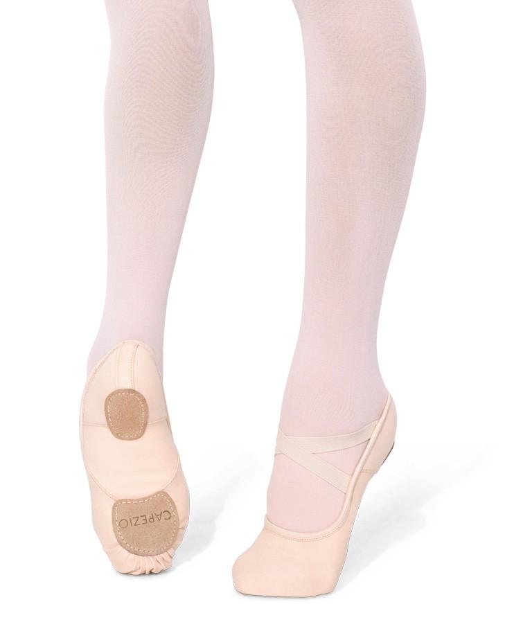 Capezio Hanami 2037 Split sole ballet shoe in ballet pink