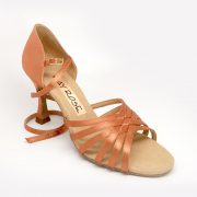 Selene in Light Tan Satin
