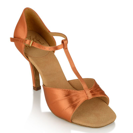 Ray Rose Frost Light Tan Satin