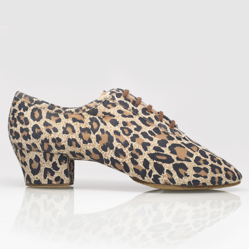 Ray Rose Solstice Leopard Print Leather