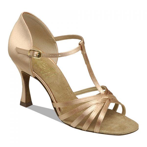 1401 Flesh Satin Dance Shoe