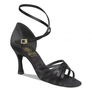 1403 Black Latin Dance Shoe