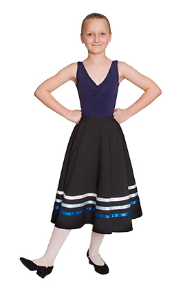 (d) Character Skirt for Grade 4 and above