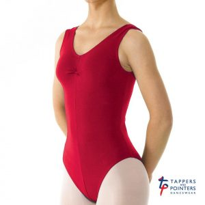 (b) Cherry/Plum leotard for Grade 1, Primary and Pre-Primary