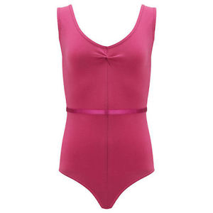(c) Leotard in Mulberry for Grades 3 - Adult Sizes