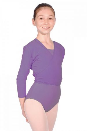 (b) Cotton Cardigan in Lavender - Adult Sizes