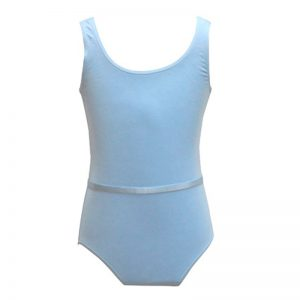 (c) Pale Blue Leotard Grade 2 - Adult Sizes