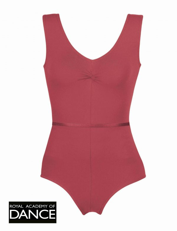 (e) Red Leotard for Grade 5 - Adult Sizes
