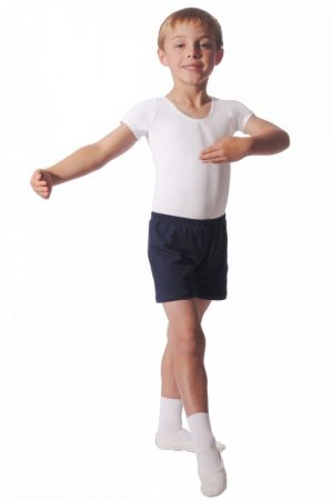(G) Boy's Leotard in white - Extra Ballet