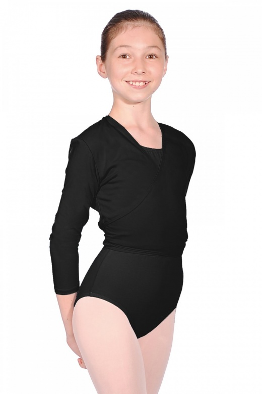 (i) Cotton Cardigan in Black - Child Sizes