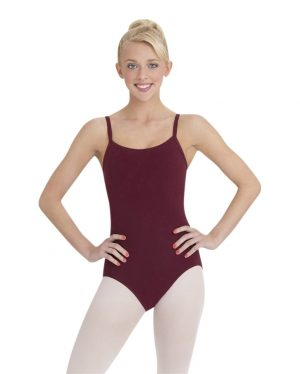 (d) Capezio CC110 Leotard in Mulberry for Grades 5 and 6