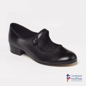 National Shoe with low heel in Black