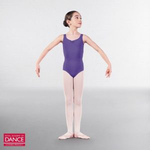(c) Microfibre leotard in Lavender, Teal or Navy - Child sizes