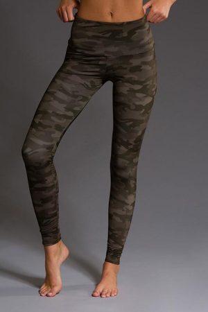Onzie Workout Wear - Moss Camo Leggings