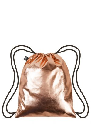 Loqi metallic backpacks