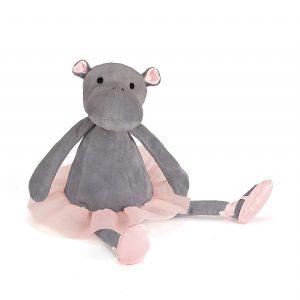 Jellycat Dancing Darcey Hippo - Medium
