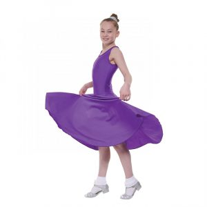Ballroom 3 sleeveless practice dress in Longer length