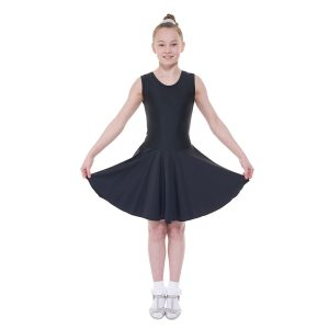 Ballroom 1 sleeveless practice dress in latin length