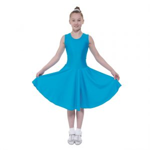 Ballroom 2 sleeveless practice dress in Standard length