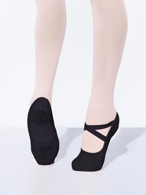 Capezio Hanami 2037 in black - Adult Sizes to UK8.5