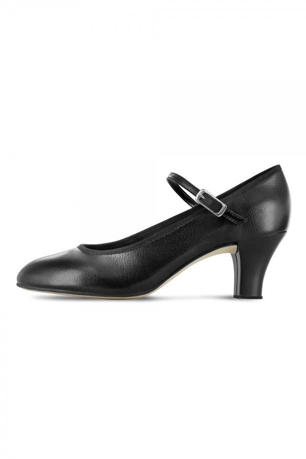 Kick line character shoe