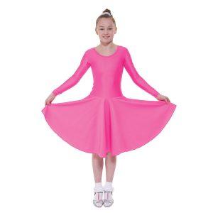 Ballroom 4 Long Sleeved Practice Dress in Standard Length
