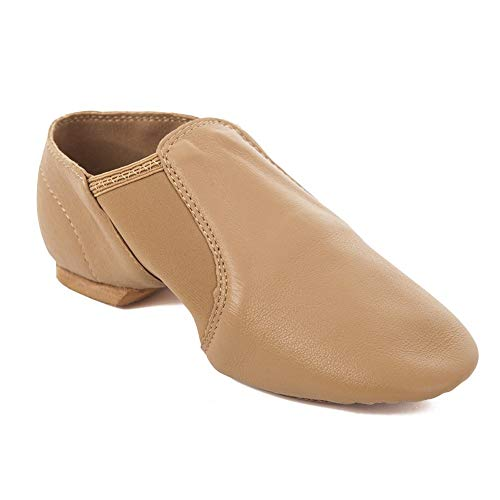 Capezio E-Series Jazz Shoe in Black or Caramel