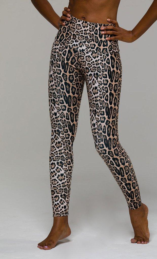 Onzie Workout Wear - Leopard Print Leggings