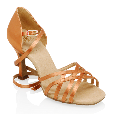 Ray Rose Kalahari Light Tan Satin